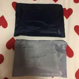 SIA SQ Sleeping & Toiletries Bag Kit
