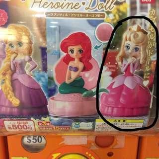 第二蛋 迪士尼公主 睡公主 扭蛋