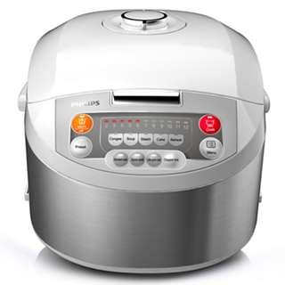 Brand new Philips HD3038 1.8L Viva Collection Fuzzy Logic Rice Cooker