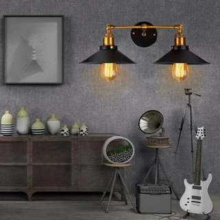 Industrial Loft Double Lamp