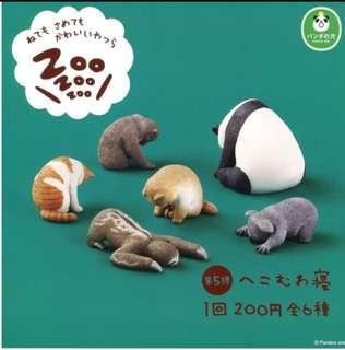 熊貓之穴ZOO睡眠動物第五彈 扭蛋