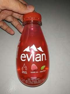 12 x bottles brand new evian rasberry and verbena with free delivery