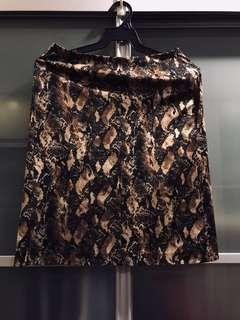 G2000 Animal Print Skirt