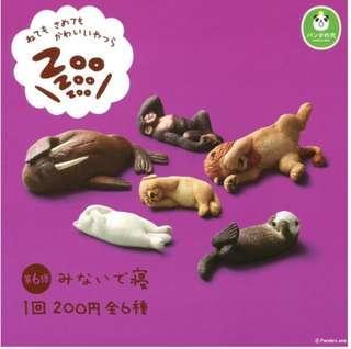 熊貓之穴ZOO睡眠動物第6彈 扭蛋