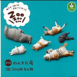 熊貓之穴ZOO睡眠動物第4彈 扭蛋