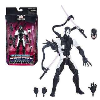 Marvel Legends Black Deadpool Venompool