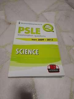 🚚 PSLE Topical 2009 to 2013