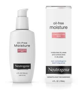 🚚 Neutrogena Oil-Free Moisture for Combination Skin