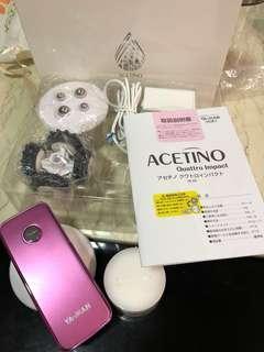 Acetone 3D 美容儀(二用),按摩霜未開過,只取出試用一次!日本購入,2折環保價!