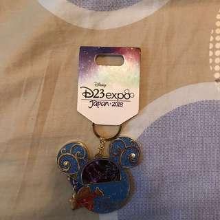日本迪士尼D23展覽鑰匙扣Japan Disney D23 Expo Keychain