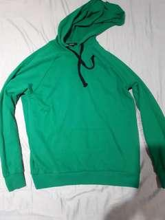Forever 21 Thin green colour hoodie