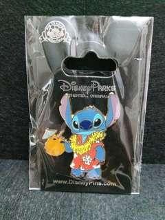 夏威夷史迪仔-Disney pin迪士尼襟章