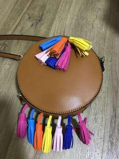 Brown colourful Bag