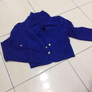 [S] Royal Blue Cardigan