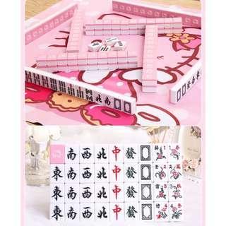 Hello Kitty Mahjong Set ♥️