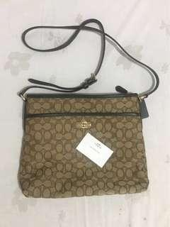 REPRICED Authentic Coach Body Bag / Sling Bag