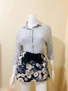 Top and Skirt C