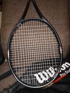 Wilson Pro Staff 5.5 si 110 網球拍 新淨 跟拍套