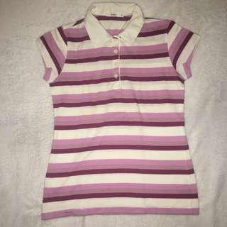 RUSH SALE!! Striped Polo Shirt