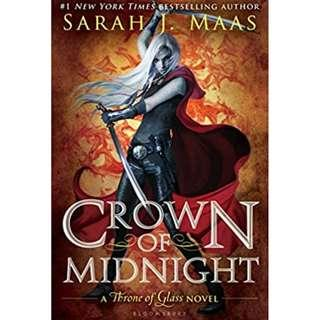 [hardcover] Crown of Midnight by Sarah J. Maas
