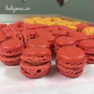 Mini macarons / baby macarons