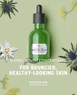 🚚 BNIB The Body Shop Drops Of Youth Concentrate - 50ml