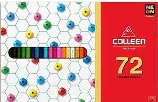 🚚 colleen 油性色鉛筆 72色 單頭 含螢光色係