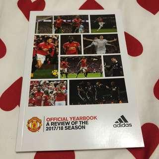 Manchester United (Manutd) Official Yearbook 2017/2018
