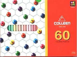 🚚 colleen 油性色鉛筆 60色 單頭