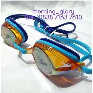 Ori SPEEDO Kacamata Renang Dewasa Anti Fog Vengeance Mirror Lens