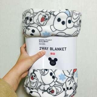 🚚 誠徵~雪寶uniqlo刷毛毯