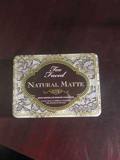 Too Faced Natural Matte Eye Shadow