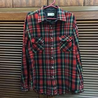 Vintage Flannel Polo