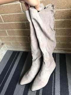 H&M knee high boots size 9