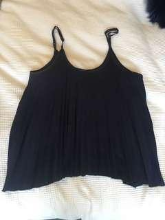 Navy blue rigged singlet