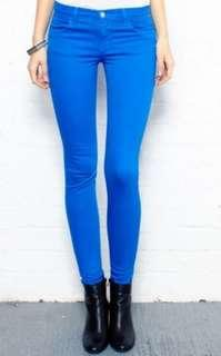 Electric Blue Jeggings