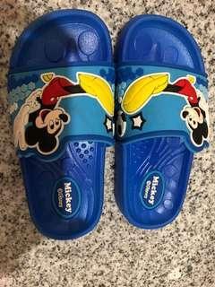 Kids Slipper Mickey Mouse Size 27
