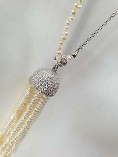Long fashion necklace