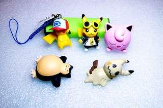 絕版:Pokemon 公仔,有意pm