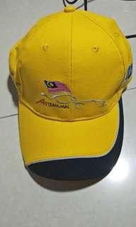 Brand new original special edition official merchandise alex young F1 team malaysia  cap