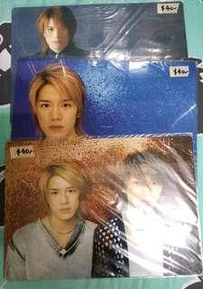 Tackey & Tsubasa 瀧與翼 瀧澤壽明 2003 墊版
