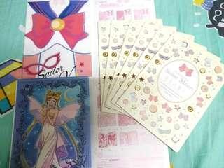 美少女戰士 Sailor moon mini file set