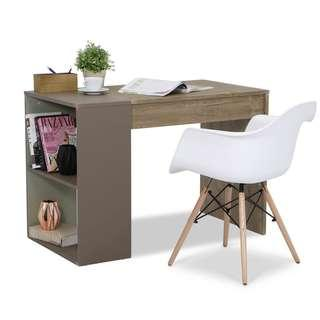 Study table with open shelves ♥️