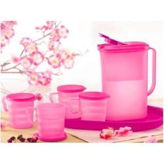 Full Set - Tupperware - Sakura Drinking Set