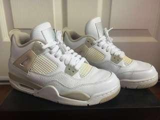 """Jordan 4 (gs) """"Linen"""""""