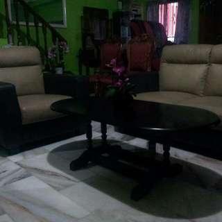Sofa PU leather(ada delivery)