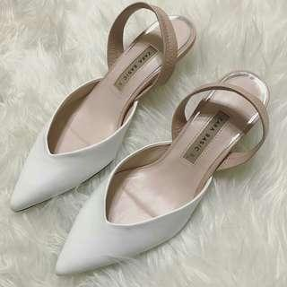 Zara V Pump Shoes