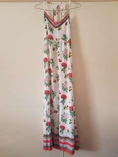 H&M Coachella Floral Maxi Dress Size 4/XXS (fits 6 well)