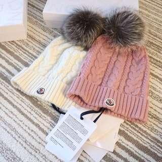mon 羊絨羊毛混製針織➕北歐天然銀狐毛