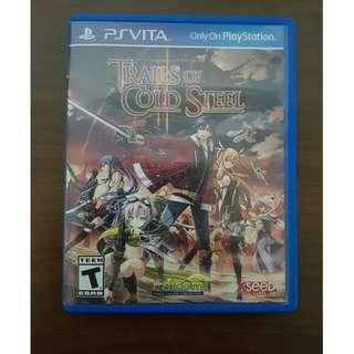 PS Vita Trails of Cold Steel II Original Game